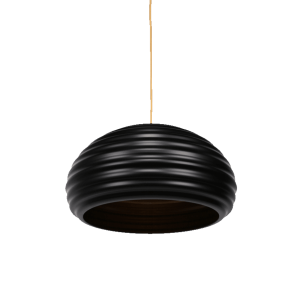 Agnes Pendant Light | Aluminium, Black Luminous Red, Black Luminous Yellow, Pearl Gold and Shinning Red - Oz Lights Direct
