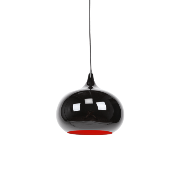 Mini Kirke Pendant Light | Aluminium,Beige Red,Black (Available in other colours) - Oz Lights Direct