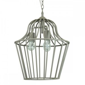 Valdus Sandy Pendant Light | Beige - Oz Lights Direct